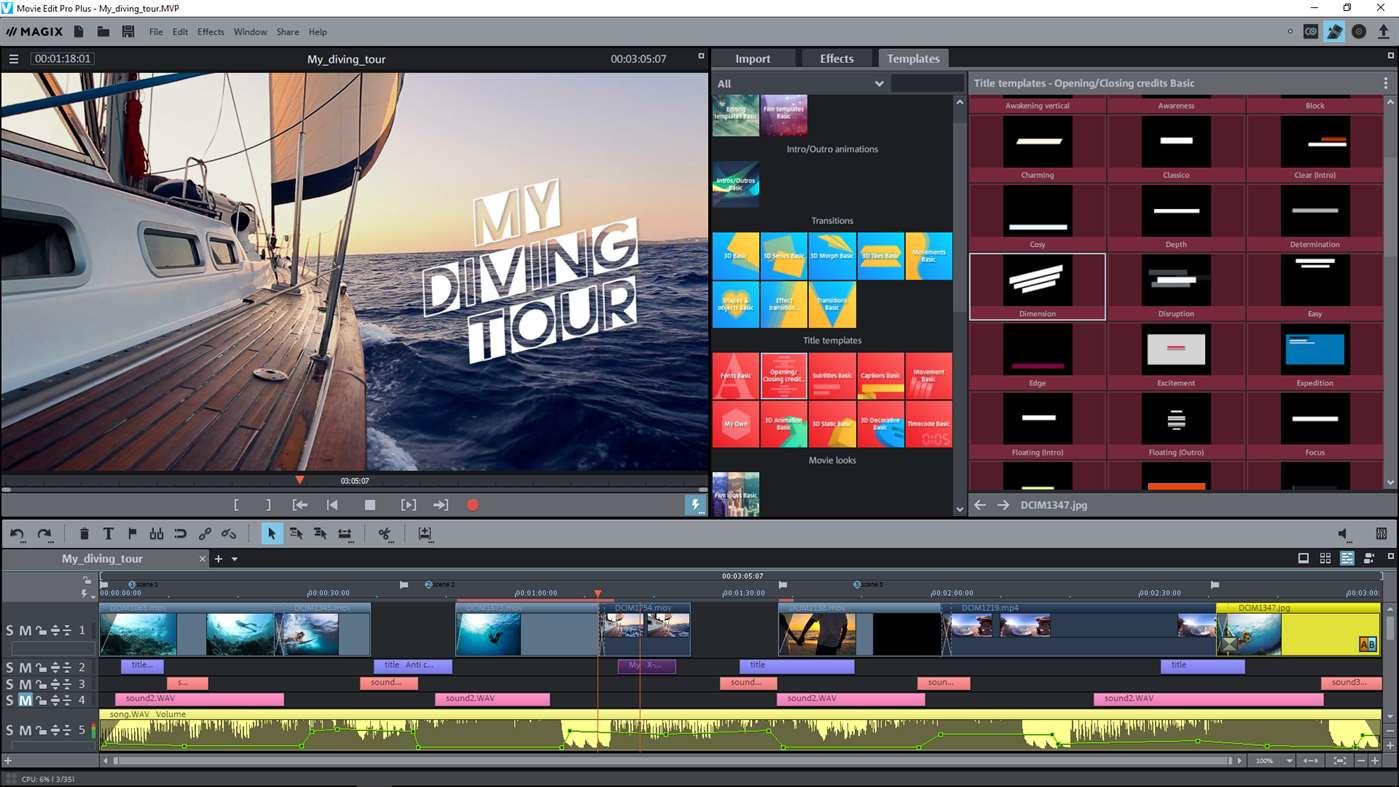 movie edit pro plus magix video editor landet im