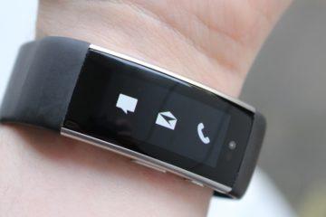 Microsoft Band 3 Patent Comeback