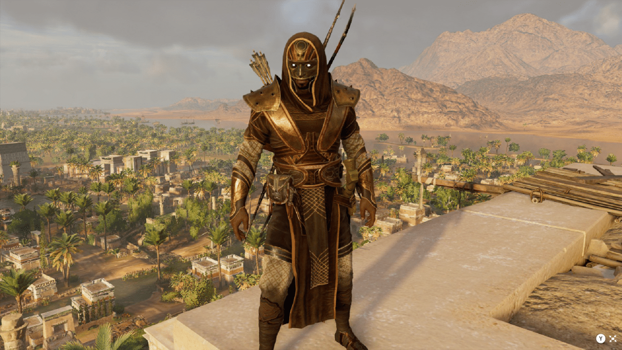 Das Outfit Mythical Warrior ist die Belohnung für das Beenden des New Game Plus in Assassins's Creed Origins.