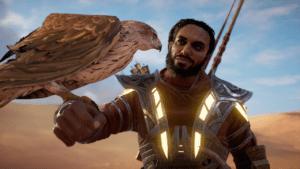 Senu begleitet euch wieder im New Game Plus-Modus von Assassin's Creed Origins.