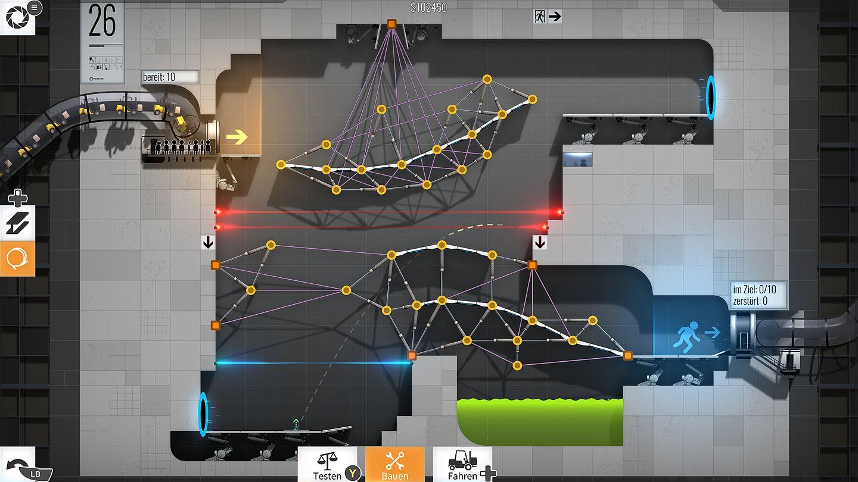 Bridge Constructor Portal erscheint am 28. Februar 2018 für die Xbox One.