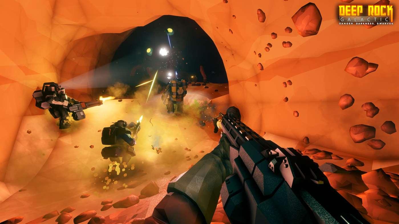 Deep Rock Galactic erscheint am 28. Februar 2018 für die Xbox One.
