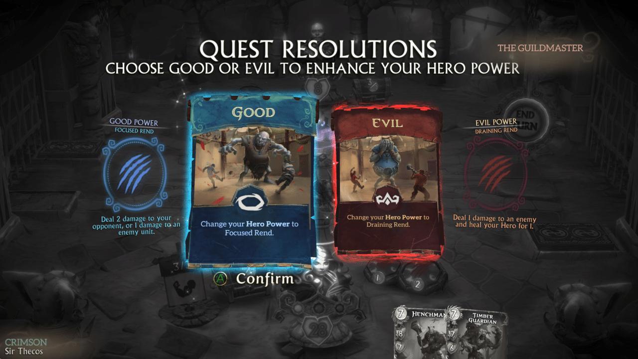 Quest Resolutions beeinflussen die Heldenfähigkeiten in Fable Fortune maßgeblich.