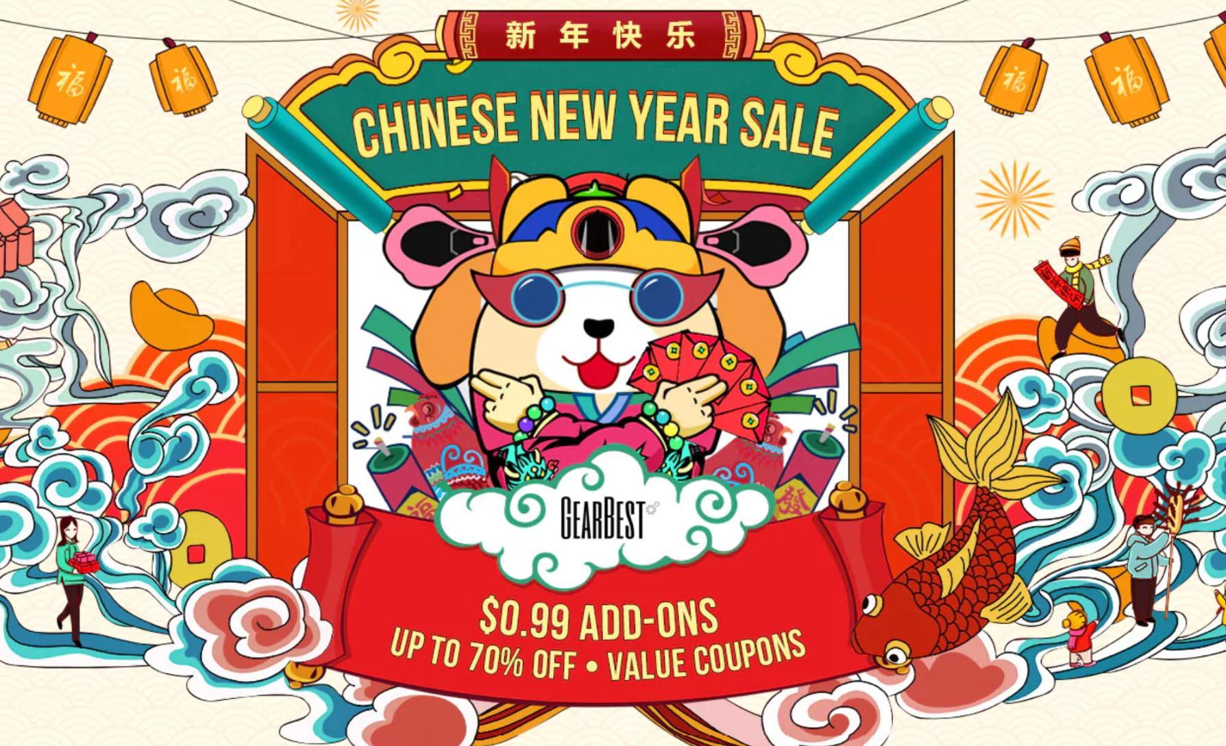 Chinesisches Neujahr: Dicke Rabatte auf\'s Gearbest Sortiment ...