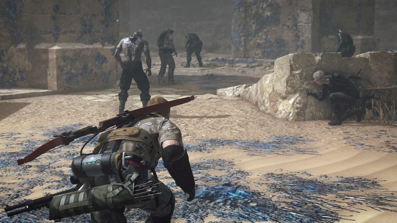 Metal Gear Survive: baut auf dem aus der Serie bekannten Stealth-Action-Gameplay auf.