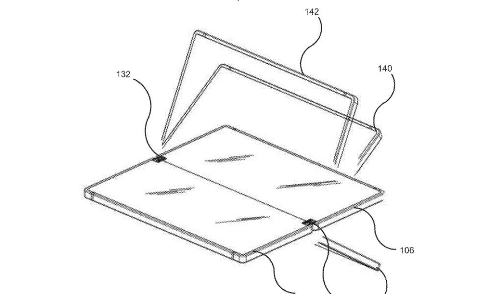 Microsoft Patent faltbares Display