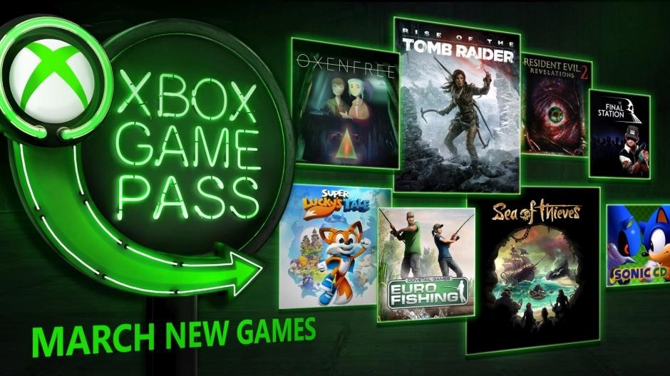 Acht neue Spiele verstärken den Xbox Game Pass im März 2018.