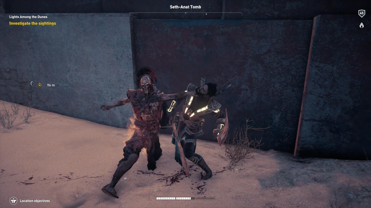 """""""Der Fluch der Pharaonen"""" in Assassin's Creed Origins wird untote Gegner haben."""