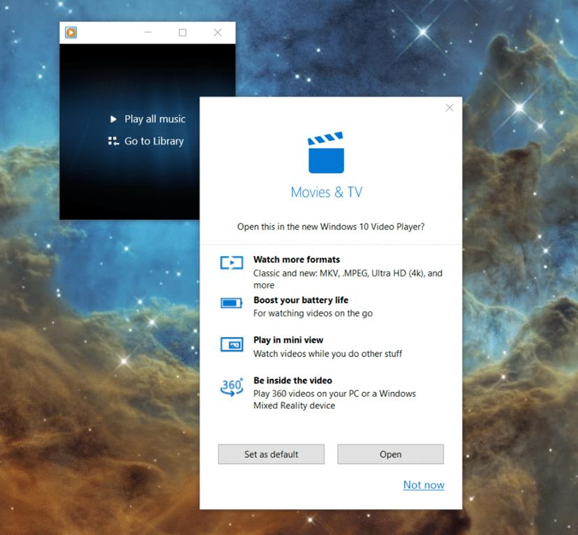Windows 10 Filme & Tv