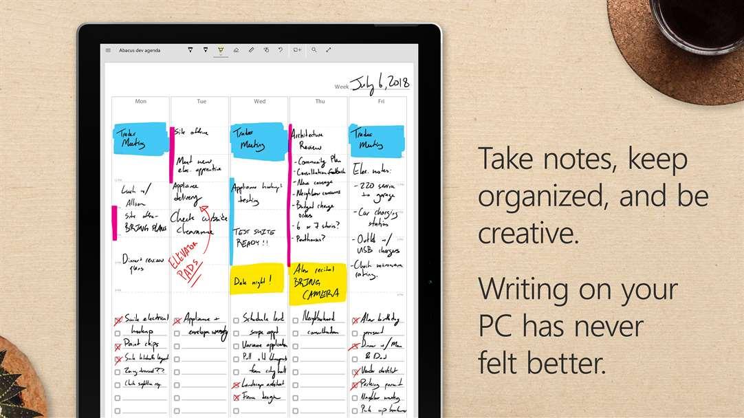 Penbook App Hochformat