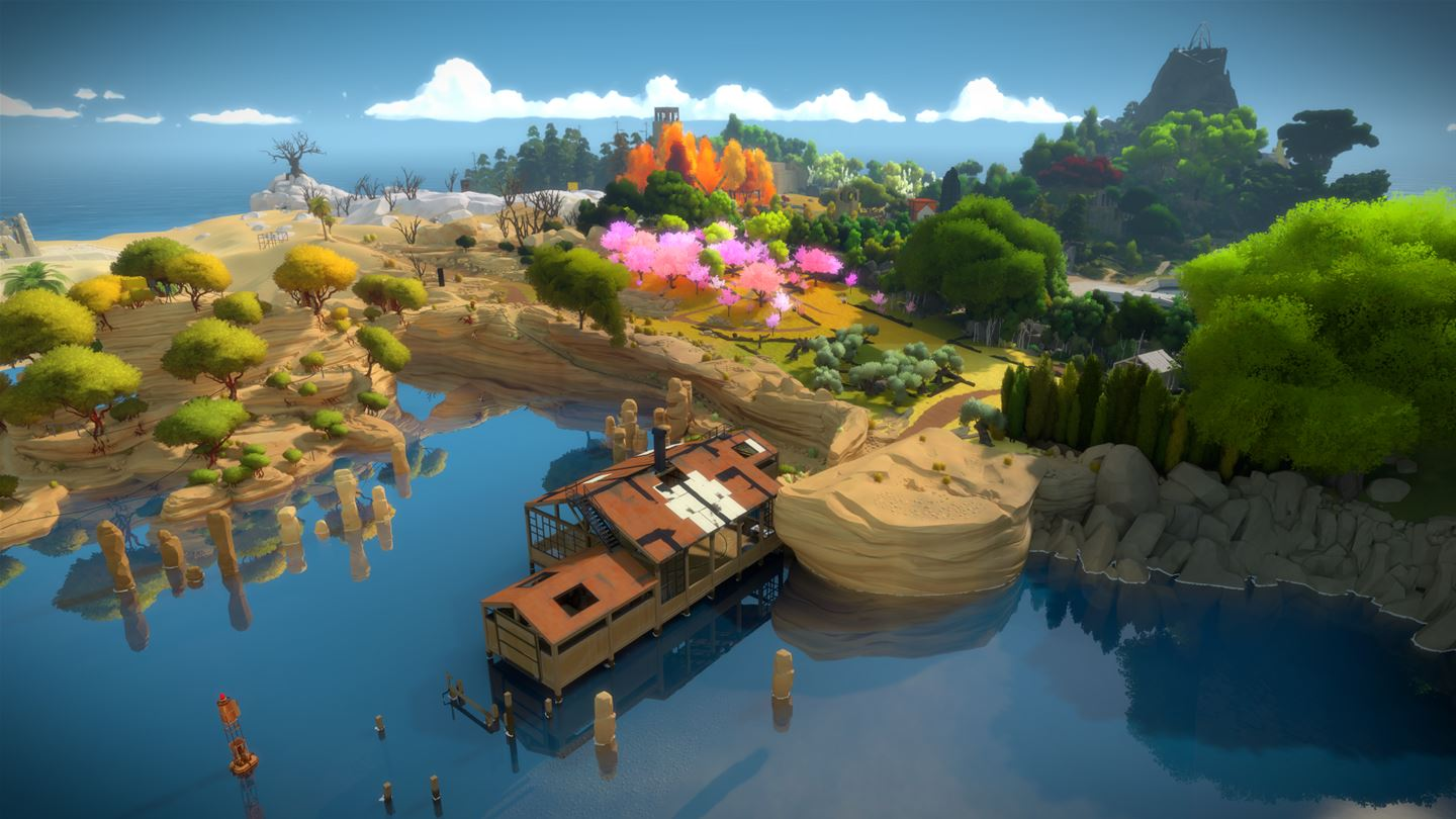 The Witness ist im April im Games with Gold-Angebot enthalten.