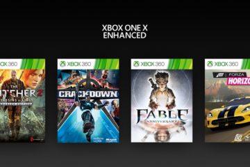 Vier Xbox 360-Spiele werden für die Xbox One X optimiert.