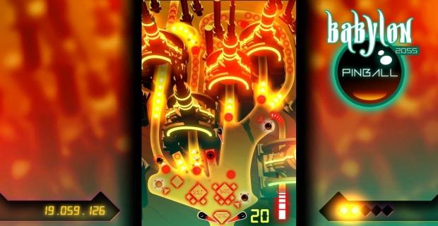 Babylon 2055 Pinball erscheint am 20. April 2018 für die Xbox One.