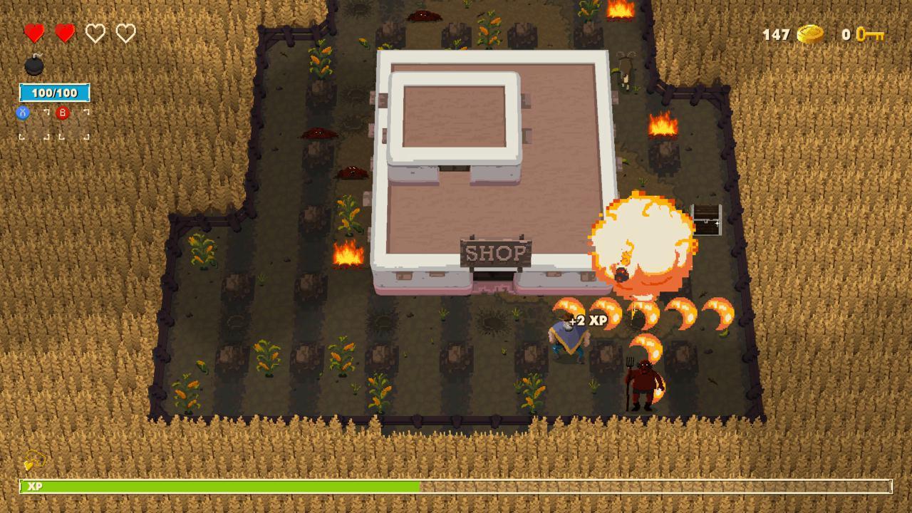 Bombslinger ist jetzt auf der Xbox One verfügbar.