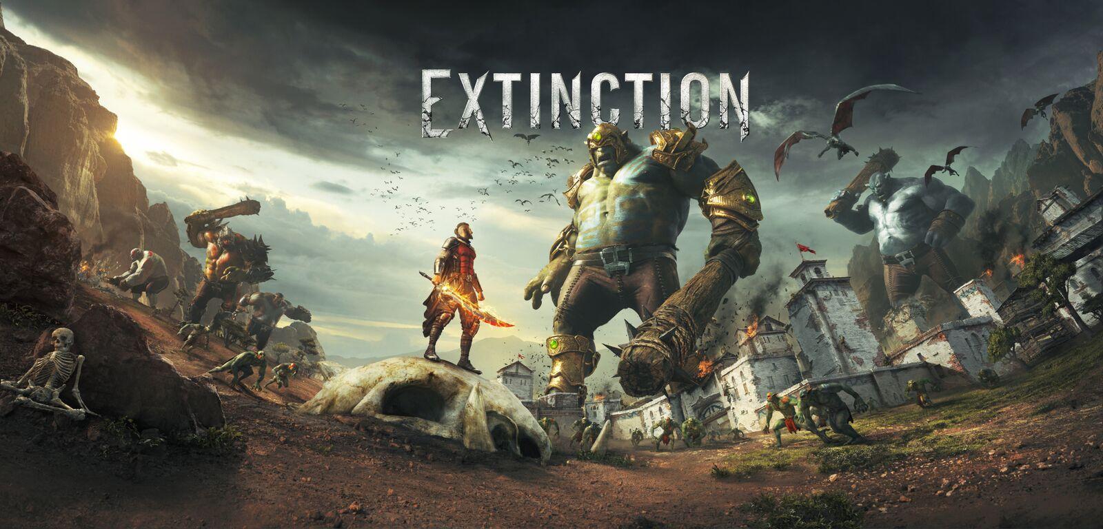 Extinction ist jetzt im Microsoft Store verfügbar.