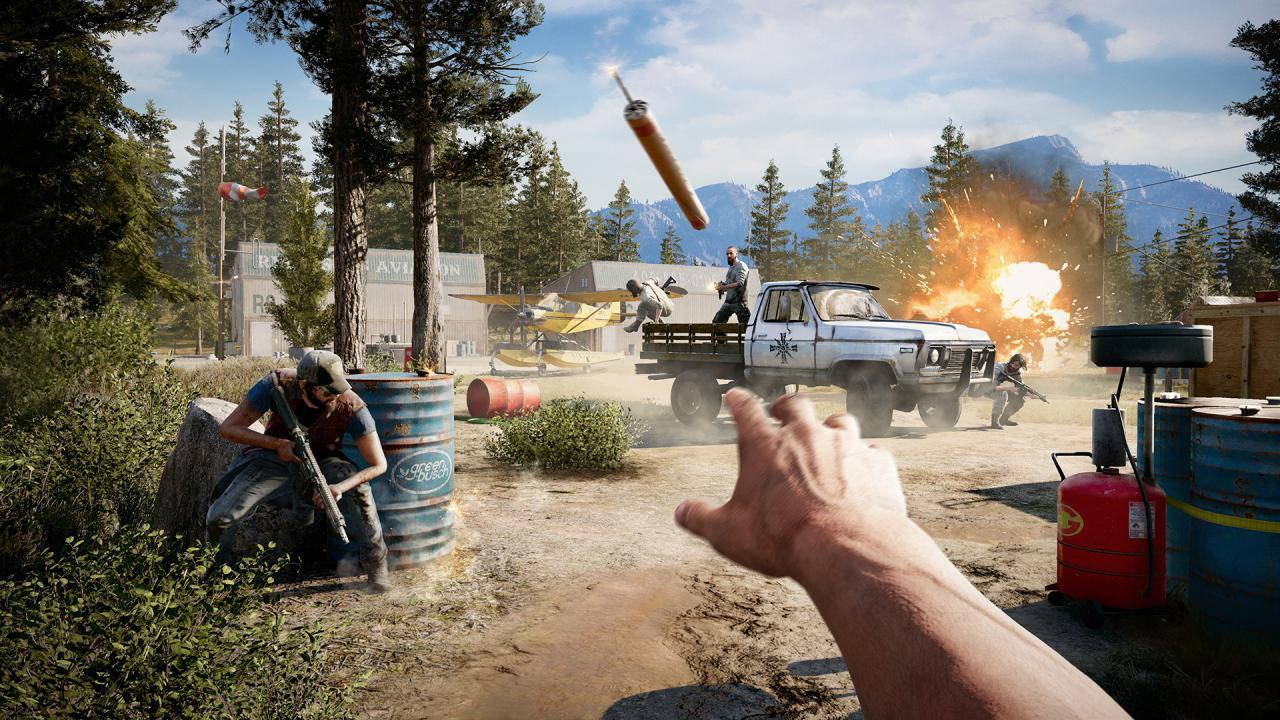 Das vierte Live-Event 'Pickup Blowup' in Far Cry 5 ist jetzt live auf der Xbox One.