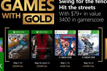 Dies sind die Games with Gold für Mai 2018.