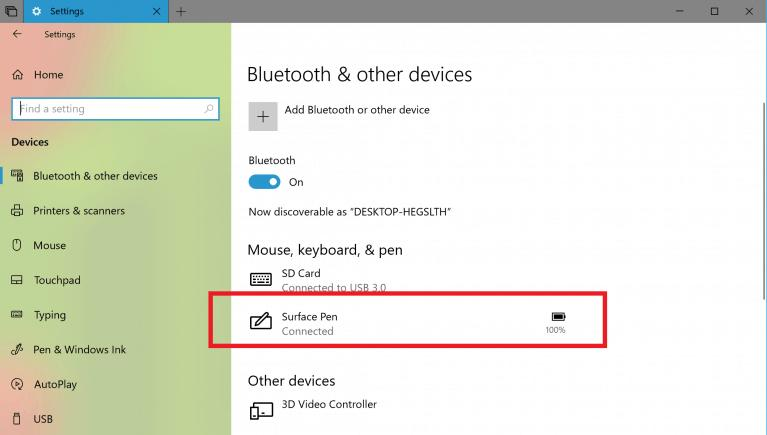 Windows 10 Redstone 5 Akku Anzeige Bluetooth