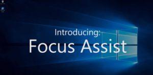 Windows 10 April 2018 Update Focus Assist Benachrichtigungsassistent