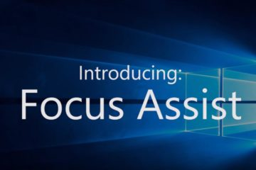 Windows 10 April 2018 Update Focus Assist Benachrichtigungsassistent