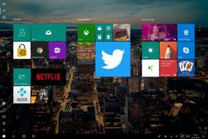 Twitter PWA Live Kachel Windows 10