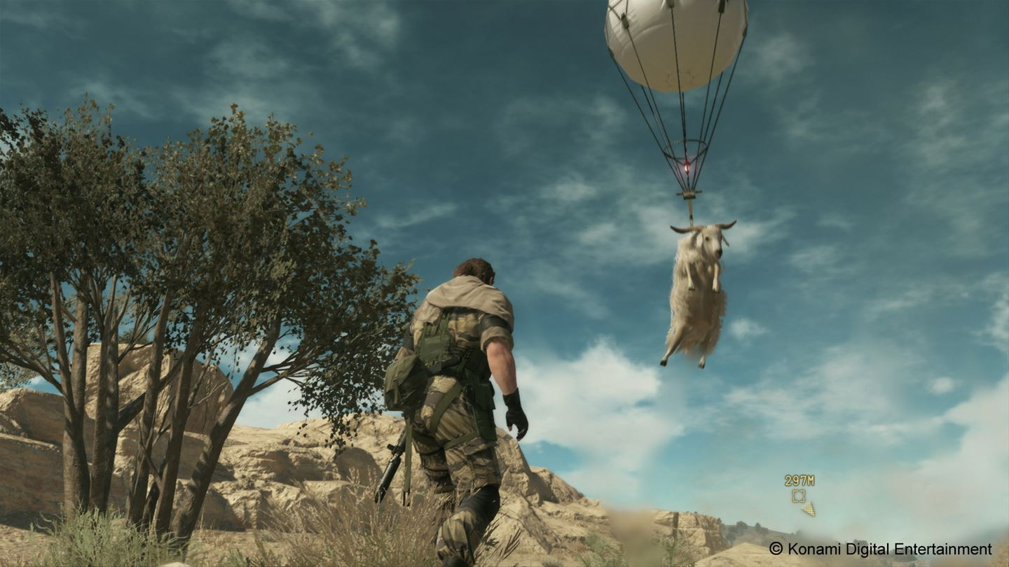 Metal Gear Solid V: The Phantom Pain ist im Mai im Games with Gold-Angebot enthalten.