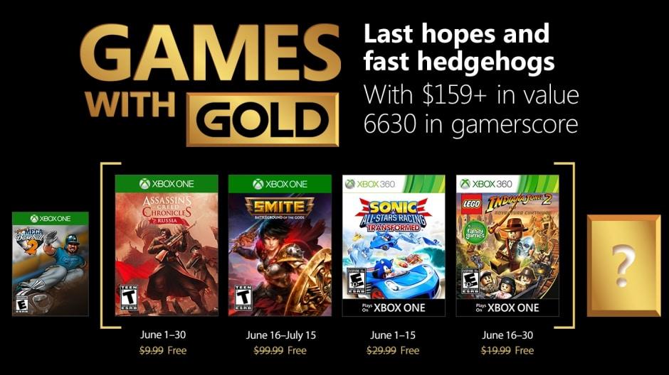 Dies sind die Games with Gold für Juni 2018.
