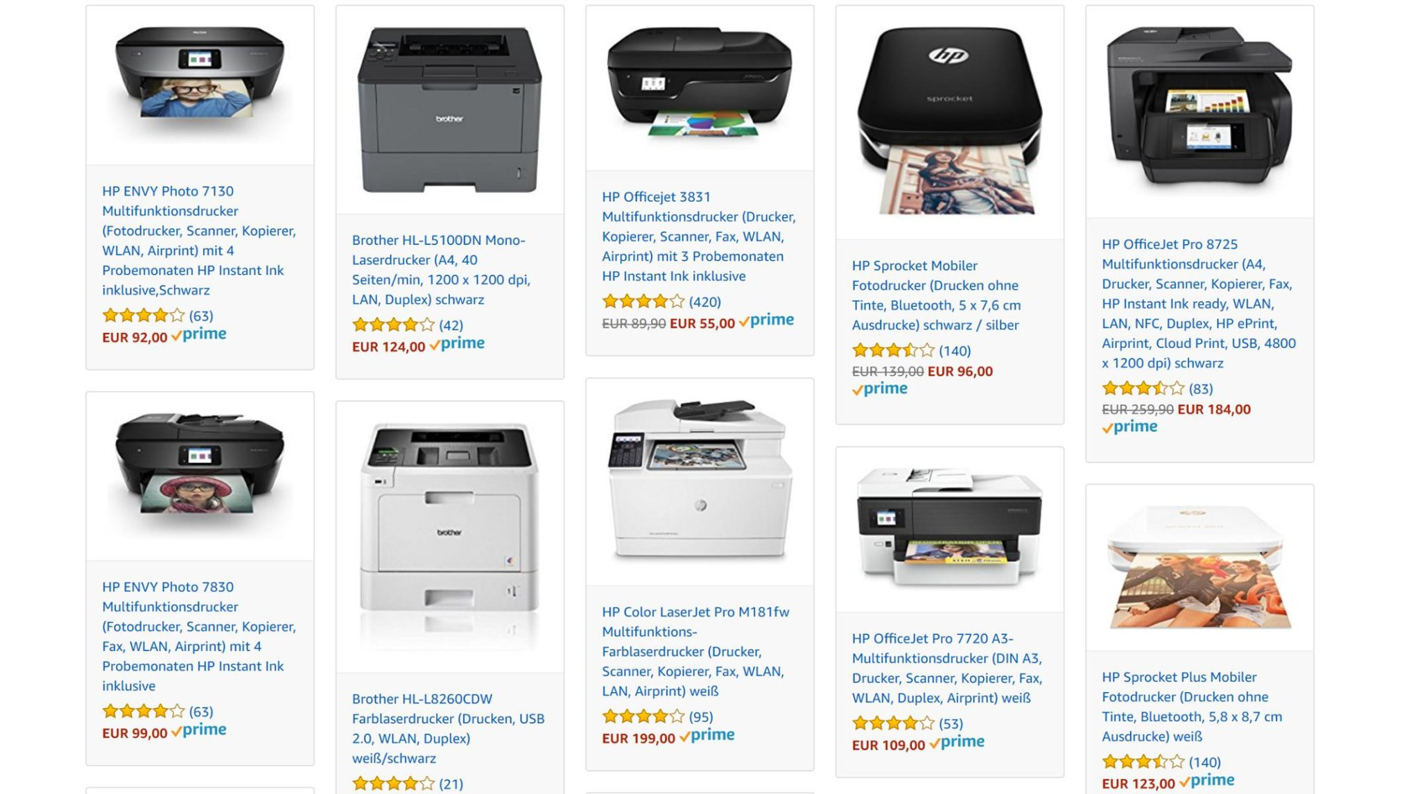 Amazon Drucker