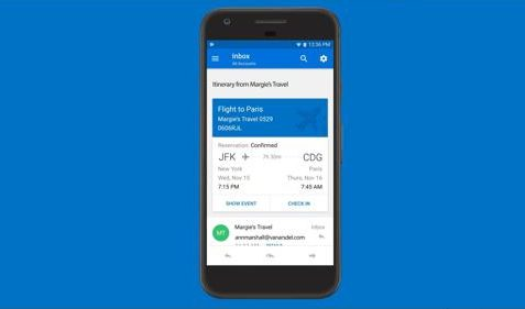 Microsoft Outlook für Android Update Kalender