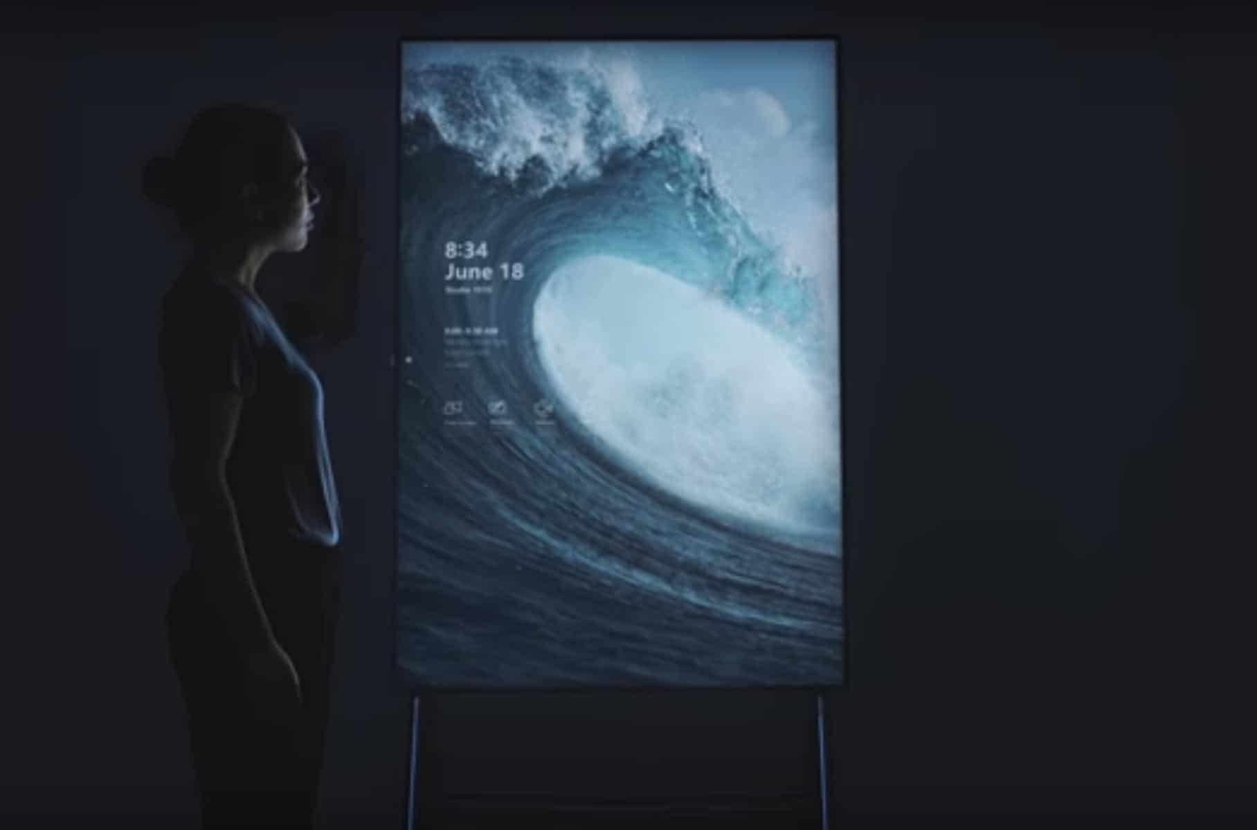 Surface Hub 2 Aruba Teams