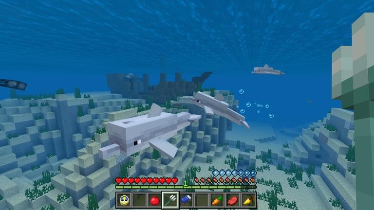 Das Aquatic Update in Minecraft ist jetzt auf der Xbox One und dem PC verfügbar.