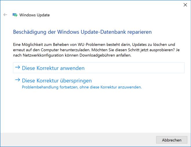 probleme beim herunterladen von windows 10