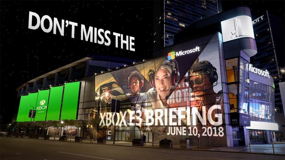 Die E3 2018 wird die Bühne für den größten Xbox-Auftritt aller Zeiten.