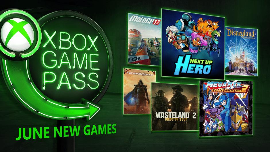 Unter den Xbox Game Pass-Spielen für Juni befinden sich Next Up Hero, MotoGP 17, Mega Man Legacy Collection 2, The Technomancer, Wasteland 2: Director's Cut und Disneyland Adventures.