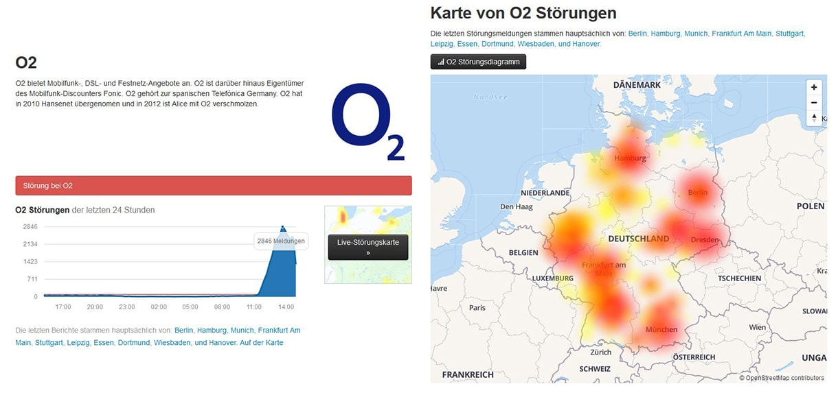 317b06bdeed7b7  Update  Behoben  Telefónica O2 hat bundesweite Störung im Mobilfunknetz