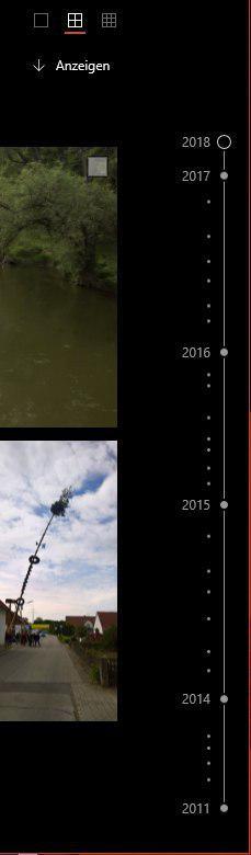 Microsoft Fotos Windows 10 Zeitstrahl