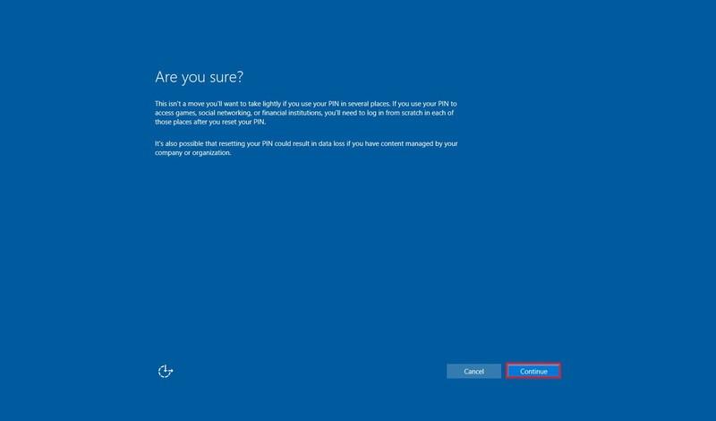 Windows 10 April Update: Windows Hello direkt vom Sperrbildschirm