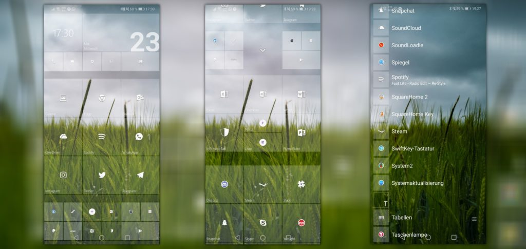 SquareHome 2 Launcher