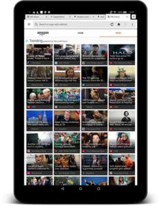 Amazon Fire Tablet Microsoft News