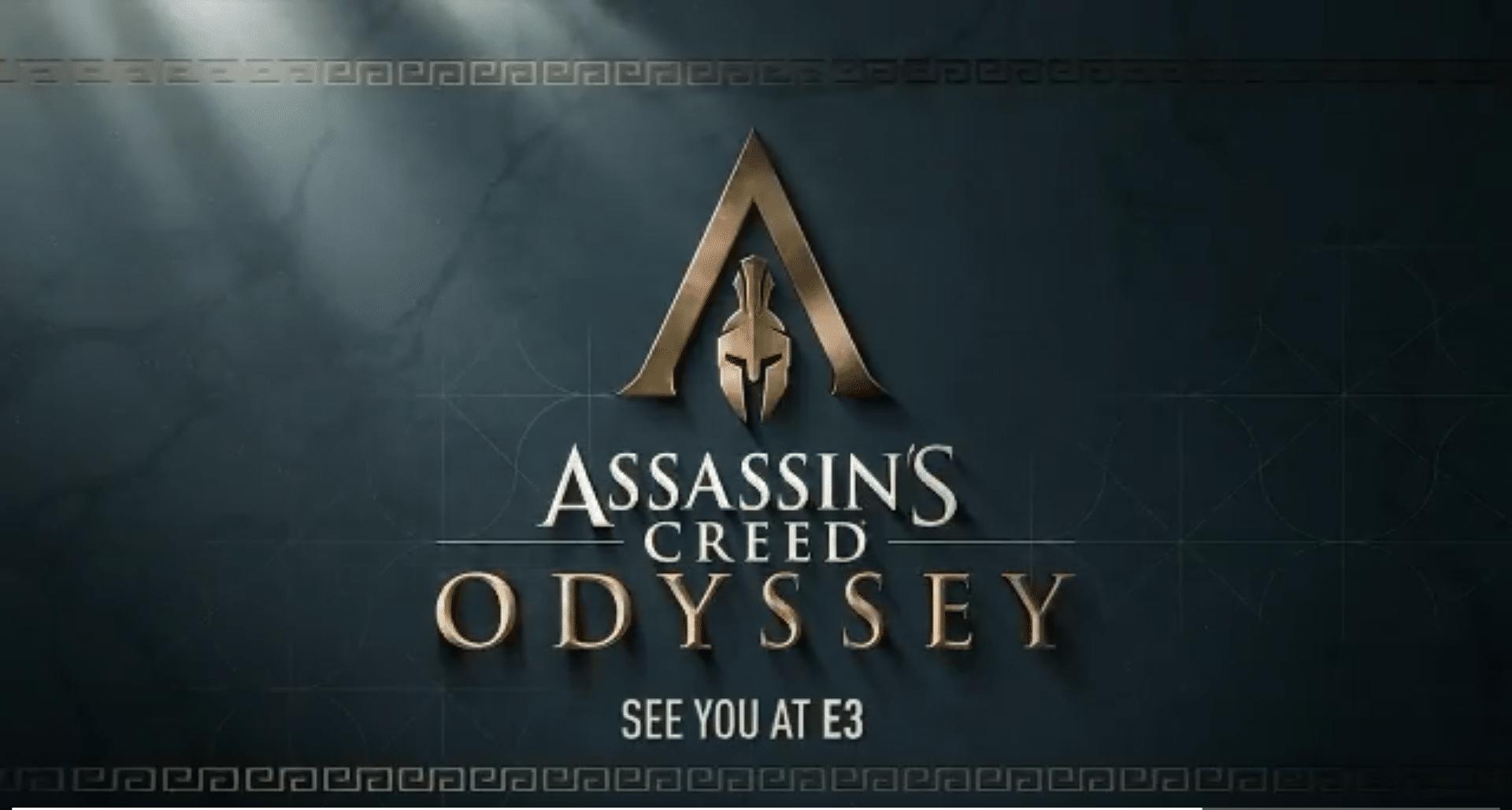 Ubisoft hat heute einen Teaser zu Assassin's Creed Odyssey auf Twitter veröffentlicht.
