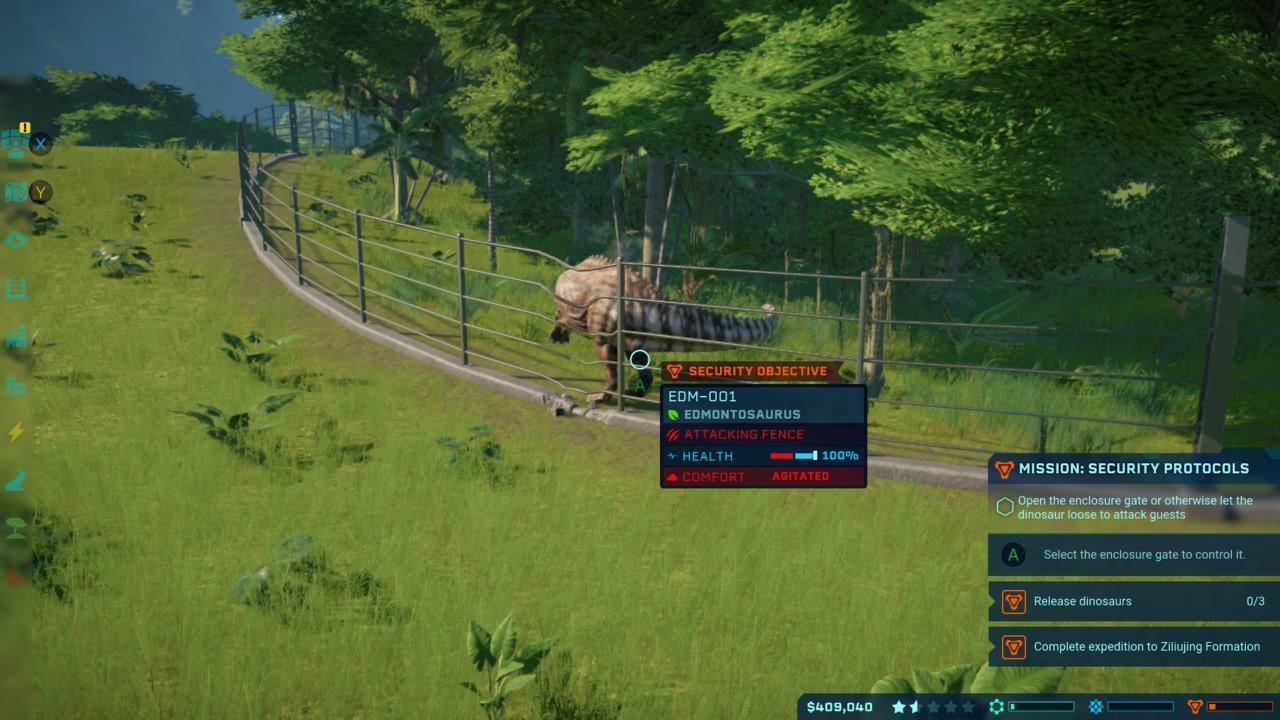 Jurassic World Evolution ist jetzt für die Xbox One verfügbar.