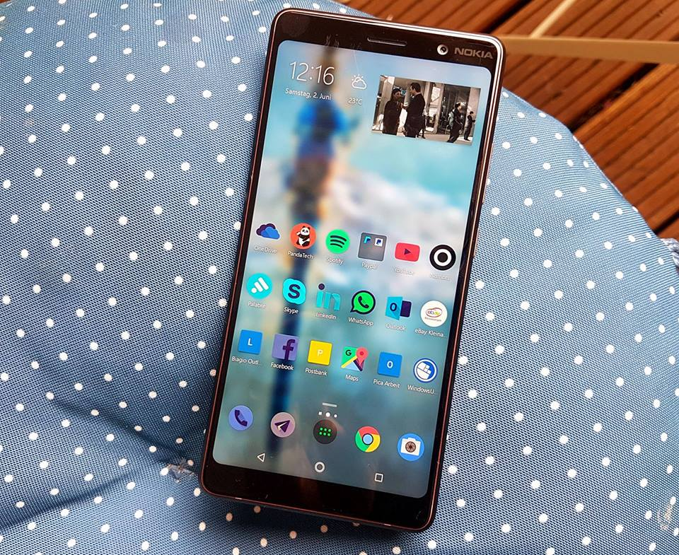 Nokia 7 Plus Android Pie August