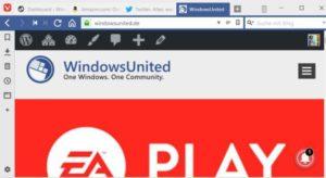 Vivaldi Browser Windows 10 ARM