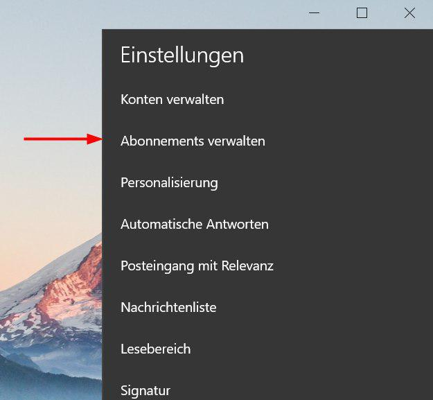 Windows 10 Mail & Kalender 16006.10228.20080.0
