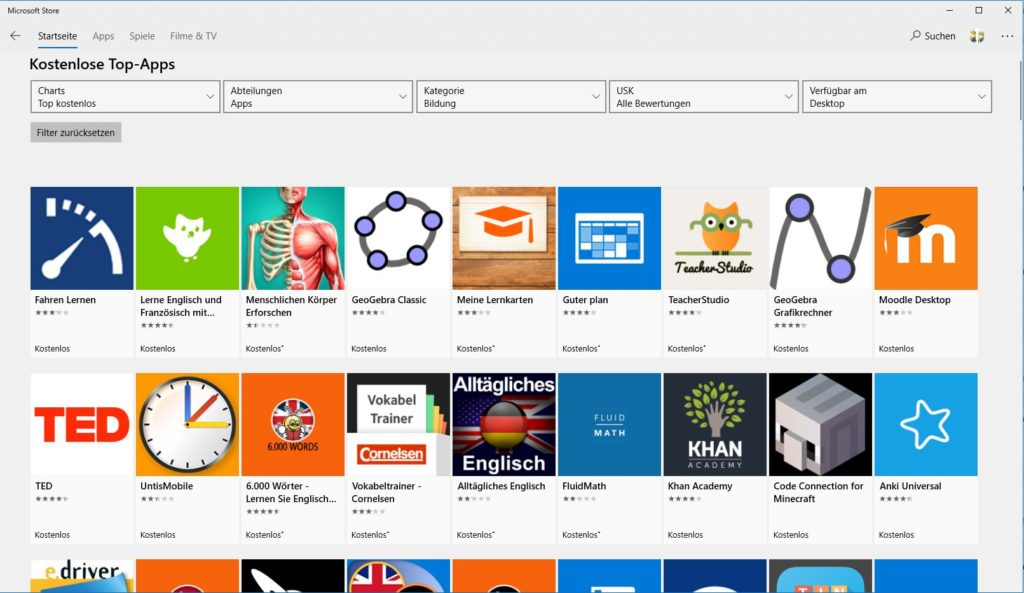 windows 10 apps microsoft store 2019