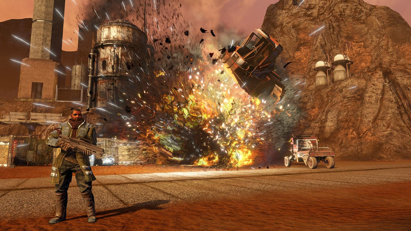 Red Faction Guerilla Re-Mars-tered erscheint am 03. Juli 2018 auf der Xbox One.