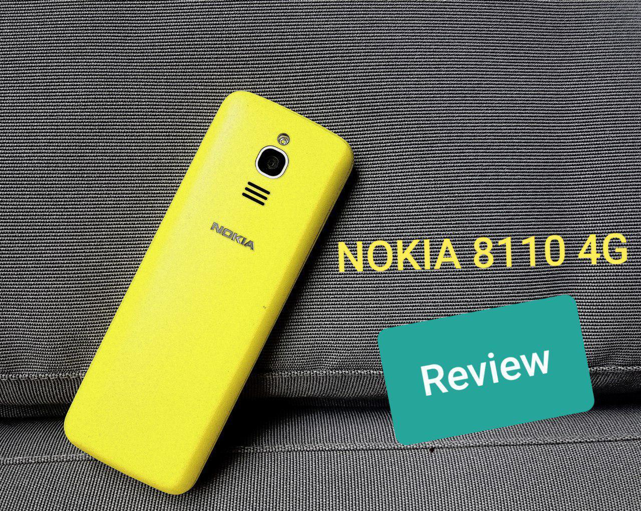 Nokia 8110 4G Test