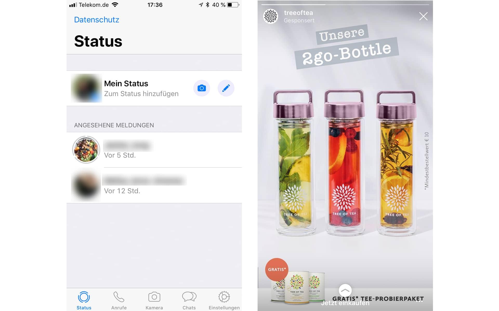 Zeit Zu Wechseln Whatsapp Führt 2019 Werbung Ein Windowsunited