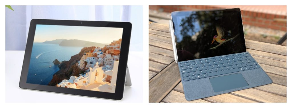 surface go vs chuwi surbook mini welches ger t sollte ich kaufen windowsunited. Black Bedroom Furniture Sets. Home Design Ideas
