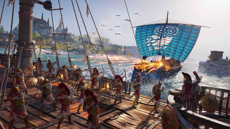 Assassin's Creed Odyssey erscheint am 05. Oktober 2018 auf der Xbox One.